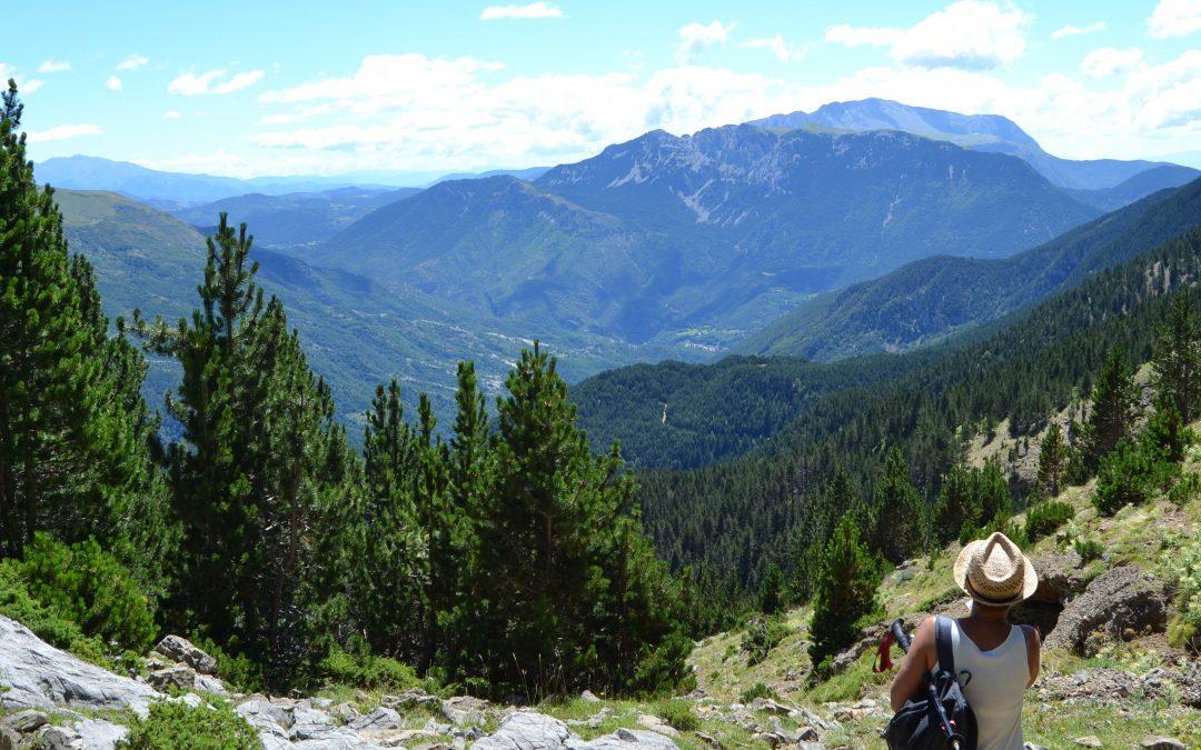 Residencial de mujeres en el Pirineo. Julio 2021